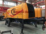 Bomba de Concreto Dawin Saintyol pode ser operado no painel de controle ou pode ser operada a partir do telecomando