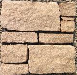 Ladrilho de pedra natural decorativo brilhante de arenito (SMC-FS042)