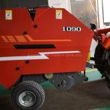 農機具の販売のための小型円形の干し草の梱包機の梱包装置