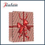 """"""" Presente para usted """" con la bolsa de papel del regalo del portador de las compras del Bowknot"""
