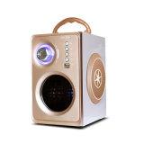 Haut-parleur Bluetooth en verre de bonne qualité avec FM, de bois l'Orateur