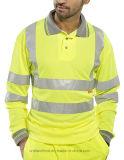 [هي-فيس] أمان أمن قصيرة & طويلة كم [ووركور] قميص مظهر