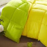 Duvet grosso da alta qualidade, escudo de Microfiber com o Comforter costurado caixa do Quilt