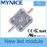 Nuovo modulo di arrivo LED con l'obiettivo ottico per le lettere della casella chiara e della Manica del LED