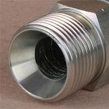 Ajustage de précision hydraulique de durites de Bsp de l'embout 60o de portée mâle de cône