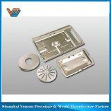 Serviço de metal de tecido cortado a laser na China peças de máquinas e estampagem