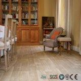 Click PVC деревянный Lvt справляясь водоустойчивый настил планки винила
