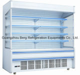 Supermarkt-vertikaler Luft-Vorhang-geöffneter Kühler mit Cer