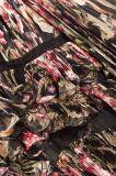 Расположенный ярусами Шнурк-Уравновешенная Silk мантия шнурка