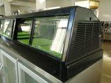 Коммерческие один слой суши дисплей холодильник витрина