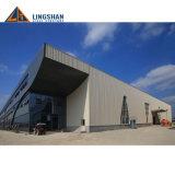 Estructura de acero galvanizada vertida/almacén/edificio