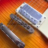 Guitare électrique d'une seule pièce de Lp de corps et de collet dans la cerise (GLP-526)
