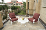 حديثة خارجيّة [كست لومينيوم] أريكة /Outdoor أثاث لازم أريكة محدّد رفاهية أريكة