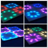 4x4m 2018 Nouveau produit 100X100cm plancher de danse en acrylique pour Bar Disco DJ Décoration de la barre