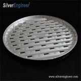 Grau Alimentício descartáveis caixa de pizza de Alumínio