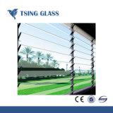 4-8mm Borrar/color/Mate /persiana Ultra transparente de vidrio para la construcción de la ventana