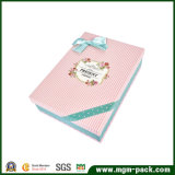 La alta calidad crea el rectángulo de regalo para requisitos particulares de papel