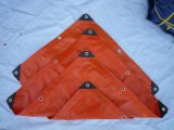 Tela incatramata del tessuto del PVC per la tenda