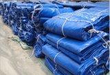 200GSM高品質青いカラーPEの防水シートファブリック