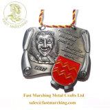 カスタム工場価格の製造業者のハンガーのGanasの円形浮彫りのフィニッシャーのフラグメダル
