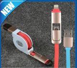 2in 1 cable de carga USB de sincronización de datos para iPhone 6
