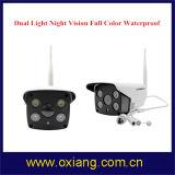 Visão nocturna Hisilicon Luz Dupla cor completa piscina impermeável Câmara IP inteligente WiFi
