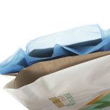 20kg 50kg bloco da válvula inferior do saco de papel Kraft de cimento
