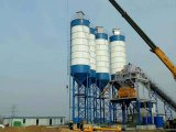 Exported to Indonesia New Design 90 Cbm Concrete Batch Plants and Dry Mix Concrete Batching Plants for Sale