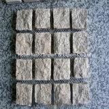 100*100mm 성격 화강암 차도 돌 또는 포석