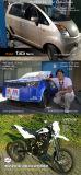 motore elettrico del motociclo di alto potere 10kw per la conversione dell'automobile elettrica