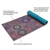 Anti-Tear ecológica 6mm piso ejercicio Pilates Mat de Yoga