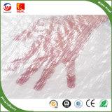 Tecido clara PE oleados e de alta qualidade resistente a chuva PE oleados