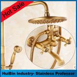Niederschlag/Hand-BADEKURORT Dusche kombiniert mit 6 Fuß Edelstahl-Schlauch-Hochdruckwand-Montierungs-Dusche-Kopf-plus 5 einstellend Hand und Absaugung-Cup-Handhalter