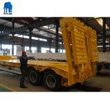 Niedriger Bett-Schlussteil mit 2 Wellen 40 Tonnen für transportieren Hochleistungsgeräten-halb Schlussteil