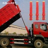 Pressione o caminhão basculante 3 estágio a haste do pistão do cilindro hidráulico de ação simples