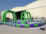 2016 New ao ar livre Designed Inflatable vão Kart Race Track para Sale