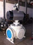 Pneumatic Fix Forged on-off Ball Valve