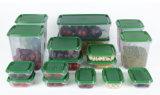 17-Piece ha impostato i silos di immagazzinamento della frutta dell'alimento di uso giornaliere