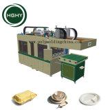 La pulpa automática de Hghy Molde de papel Biodegradable Fiambrera que hace la máquina