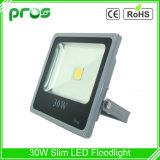 Luz de inundación delgada de la viruta al aire libre LED de la MAZORCA 30W