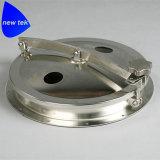 0.5 Acero inoxidable Cubrir-Sanitario 304/316L de la boca redonda del tanque de la presión de la barra