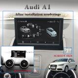"""7개의 """" Carplay 차 입체 음향 선수 Audi A1 Anti-Glare 인조 인간 7.1 전화 연결 항법 GPS 인조 인간 WiFi 연결"""