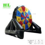 カスタマイズされたEntertamentのスポーツのゲームのフットボールの膨脹可能な投げ矢ボード