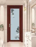 アルミニウム開き窓のドアの白い内部ドア