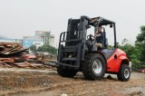 Al Ruwe Diesel van Forklifts 3.5ton van het Terrein Vorkheftruck met Ce voor Verkoop