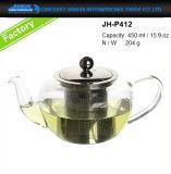 500ml Eco-Friendly чай, стеклоизделие создателя кофеего с Bamboo крышкой