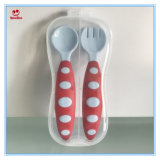 Cuchara del bebé del vajilla de los utensilios y conjunto modificados para requisitos particulares de la fork
