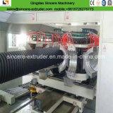 Espulsore ondulato a doppia parete del tubo dell'HDPE che fa macchina