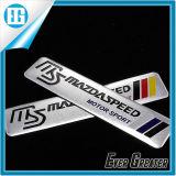 Etiqueta engomada universal del metal Etiqueta engomada autoadhesiva del emblema del logotipo