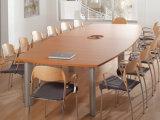 Modernes Büro-uer-förmig Konferenztisch-hölzerner Konferenzzimmer-Trainings-Tisch (SZ-MTT096)